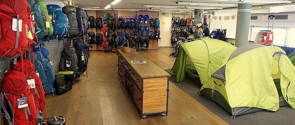 Albatraos Bergsport, Essen: Vom Campingkocher bis zum GPS-Gerät [Foto: Albatros]