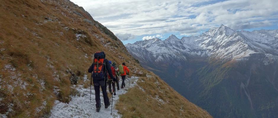 reviersteiger - steigen - alpin